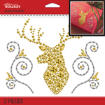 Bling Deer Head Silhouette - Jolee's Boutique Dimensional Stickers