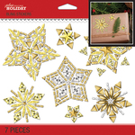 Bling Holiday Stars - Jolee's Boutique Dimensional Stickers