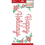 Happy Holidays Mega Bling - Jolee's Boutique Dimensional Stickers