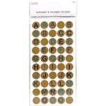 Cork Circles - Simply Creative Alphabet & Number Stickers