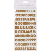 Block Cork - Simply Creative Alphabet & Number Stickers