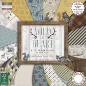 "Wild At Heart - First Edition Premium Paper Pad 8""X8"" 48/Pkg"