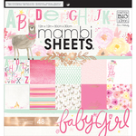 "She's So Lovely - Mambi Single-Sided Paper Pad 12""X12"" 48/Pkg"