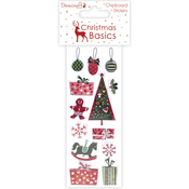 Decorations & Gifts - Dovecraft Christmas Basics Chipboard Stickers