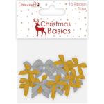 Dovecraft Christmas Basics Mini Bows