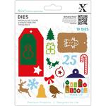 Christmas Tags - Xcut Decorative Dies 19/Pkg