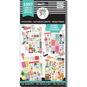 Brilliant Year, 1557/Pkg - Create 365 Happy Planner Sticker Value Pack
