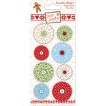 Helz Dear Santa Accordion Stickers