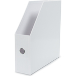 "White - Vertical Paper Holder 13.5""X13.25""X3.5"""