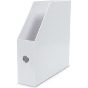 White Vertical Paper Holder