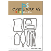 Just A Note Icons - Paper Smooches Die