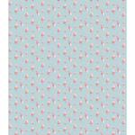 "Tossed Roses Blue - Craft Consortium Decoupage Papers 13.75""X15.75"" 3/Pkg"