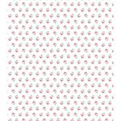 """Button Rose - Craft Consortium Decoupage Papers 13.75""""X15.75"""" 3/Pkg"""