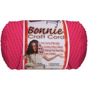 Azalea Pink - Bonnie Macrame Craft Cord 4mmX100yd