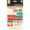 Big City - Me & My Big Ideas Pocket Pages Clear Stickers 6 Sheets/Pkg