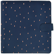 Navy With Rose Gold Foil Accent - Journal Planner - KaiserCraft