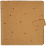 Tan With Embossed Spots - Journal Planner - KaiserCraft