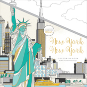 "New York - KaiserColour Perfect Bound Coloring Book 9.75""X9.75"""