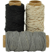 Neutral - Lucky Dip Mixed Hemp Cord 1.0mm X 21m