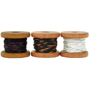 Brass, 2.7m - Lucky Dip Mini Spool Hemp Cord 1.0mm