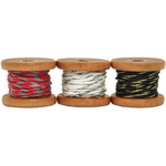 Cranberry, (2) 2.7m & (1) 3.5m - Lucky Dip Mini Spool Hemp Cord 1.0mm