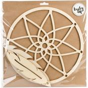 Large Dream Catcher - Lucky Dip Wood Flourish