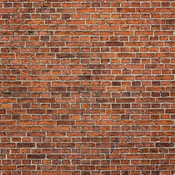 """Red Brick Wall - Ella & Viv Single-Sided Backgrounds Cardstock 12""""X12"""""""