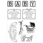 "Peek-A-Boo Clear Stamps 6""X4"""