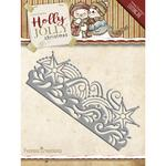 Snowflake Border - Find It Trading Yvonne Creations Holly Jolly Die