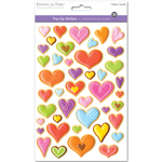 Hearts Medley - 3D Pop-Up! Stickers