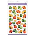 Citrus - 3D Glitter Gel Stickers