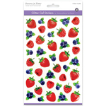 Berries - 3D Glitter Gel Stickers