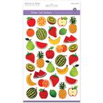 Fruits - 3D Glitter Gel Stickers