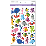 Sea Pals - 3D Puffy Foil Stickers