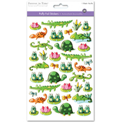 Pond Pals - 3D Puffy Foil Stickers