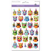 Owl Jubilee - 3D PUffy Foil Stickers