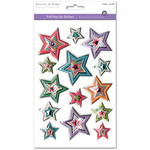 Star Medley - 3D Foil Pop-Up Stickers