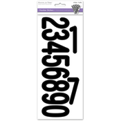 Numbers Black - Letters & Numbers Medley Stickers