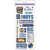 Brother - Family & Friends Clear Stickers