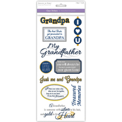Grandfather - Family & Friends Clear Stickers