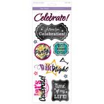 Celebrate! - Classic Theme Clear Stickers