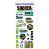 Soccer Fun - Classic Theme Clear Stickers