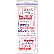 Soulmates - Love & Marriage Clear Stickers