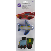 Transportation - Metal Cookie Cutter Set 3/Pkg