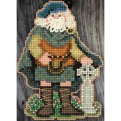 "3""X4.75"" 14 Count - Scotland Santa Celtic Santas Counted Cross Stitch Kit"