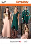 14-16-18-20-22 - SIMPLICITY MISSES' FANTASY COSTUMES