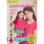 "18"" Doll Clothes - Simplicity Learn To Sew"