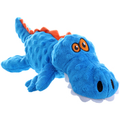 Blue - GoDog Gator With Chew Guard Large