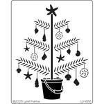 Tropical Christmas Tree - Dreamweaver Metal Stencil