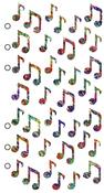 Jazzy Notes - Sticko Stickers